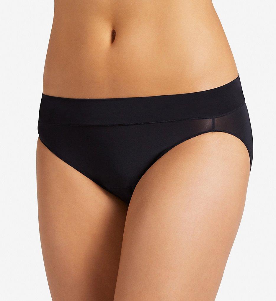 Jockey : Jockey 1345 Wide Waist Bikini Panty (Black 6)