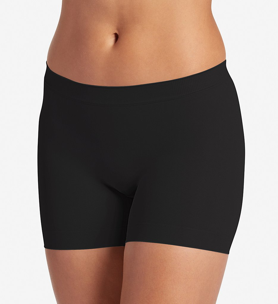Jockey : Jockey 2108 Skimmies Modern Fit Short Length Slipshort (Black S)