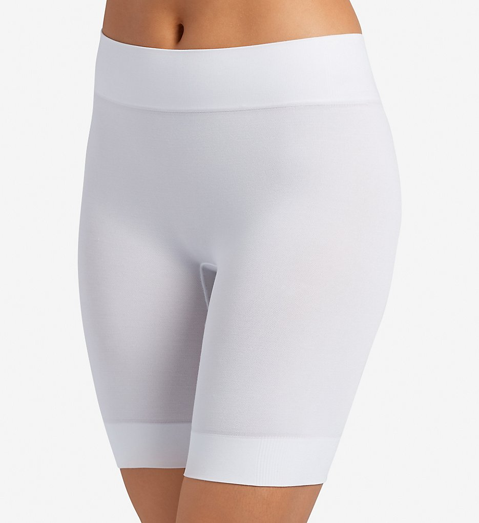 Jockey >> Jockey 2116 Skimmies Cotton Fusion Slipshort (White S)