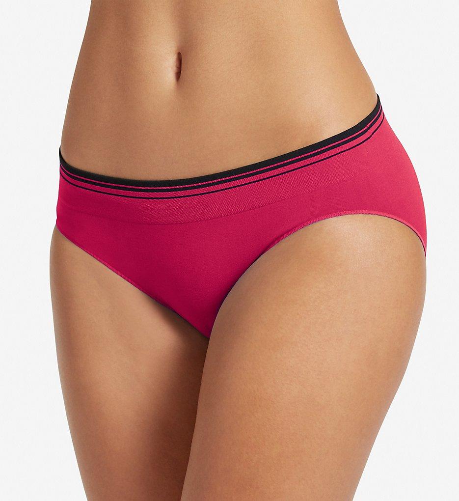 Jockey - Jockey 2157 Sporties Stripe Bikini Panty (Fuchsia 7)