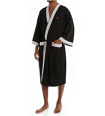 Jockey Waffle Weave Kimono Robe