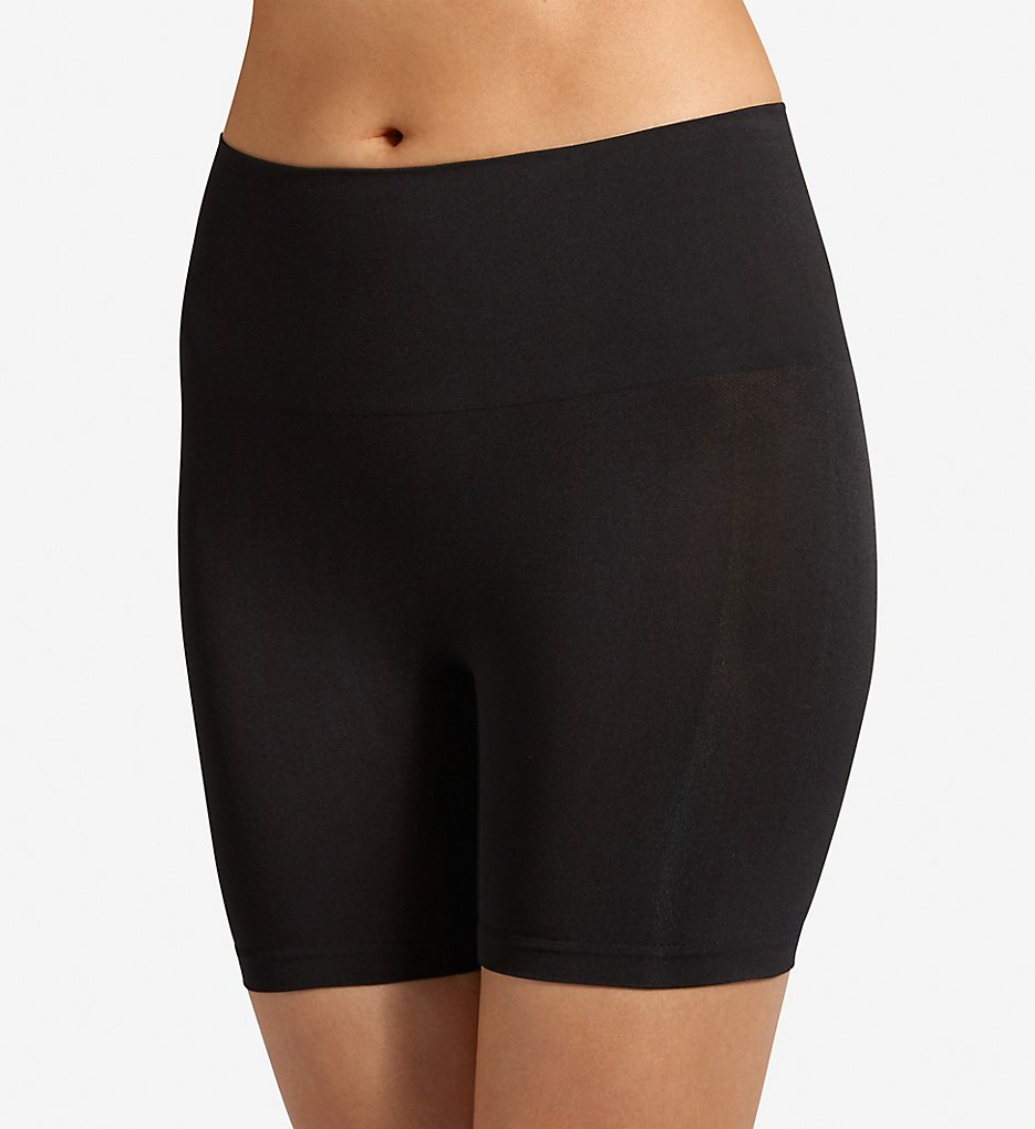 Jockey : Jockey 4136 Slimmers Fixture Shaping Seamfree Short (Black S)