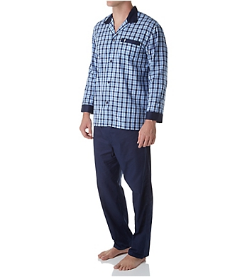 Jockey Woven Broadcloth Plaid Pajama Set