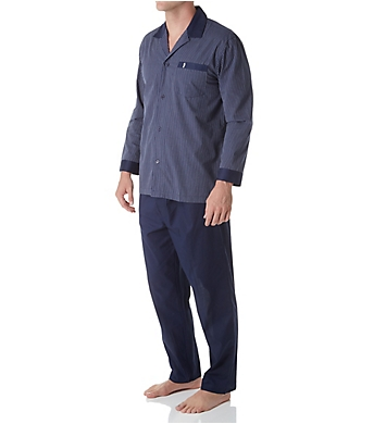 Jockey Woven Broadcloth Stripe Pajama Set
