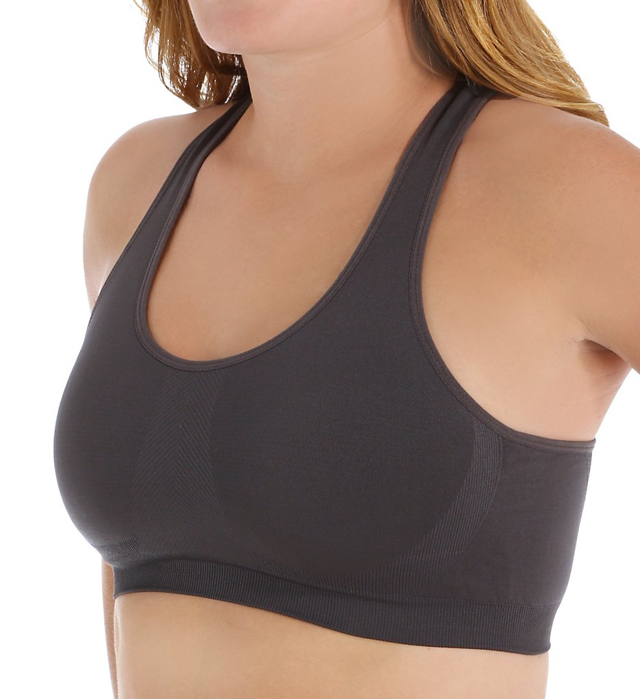 Jockey 6997 Seamless Sports Bra with Removable Pads