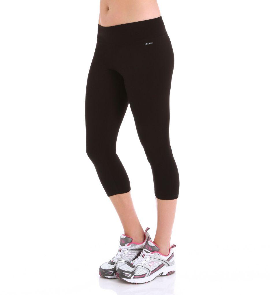 Jockey Core Body Basics Capri Leggings with Wide Waistband 7224