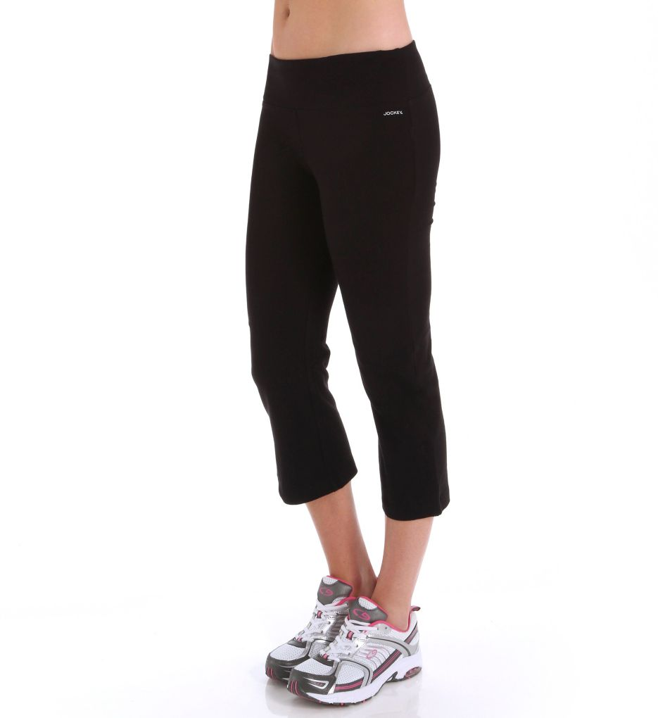 Jockey Core Body Basics Best Fit Flare Slim Capri Pant