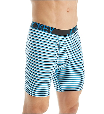 Jockey Active Stretch Midway Boxer Brief - 4 Pack