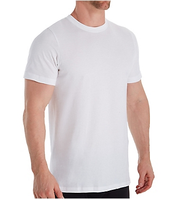 Jockey Classic Fit 100% Cotton Crew T-Shirts - 6 Pack