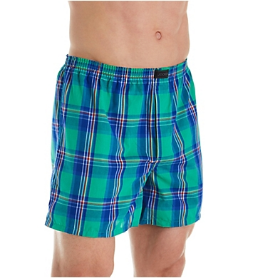 Jockey Active Blend Cotton Woven Boxer - 4 Pack
