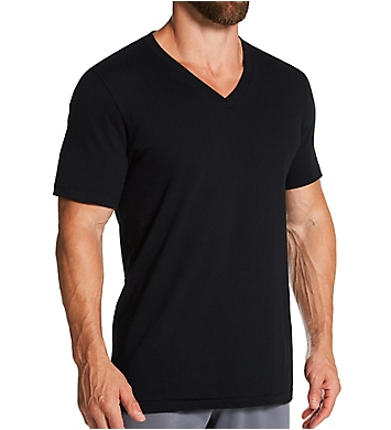 Jockey StayNew 100% Cotton V-Neck T-Shirts - 3 Pack