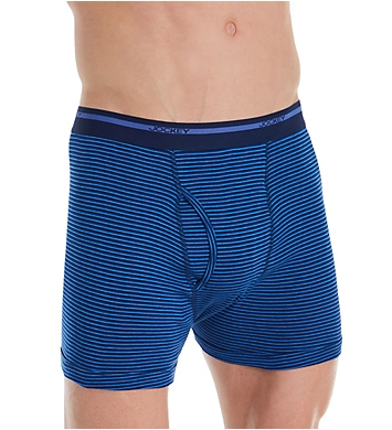 Jockey Big Man Cotton Full Rise Boxer Briefs - 2 Pack