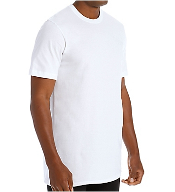 Jockey Tall Man StayNew 100% Cotton Crew T-Shirt - 2 Pack