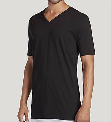 2c08fc1e Jockey Tall Man StayNew Cotton V-Neck T-Shirt - 2 Pack 9984 - Jockey ...