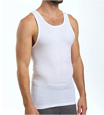 Jockey Tall Man StayNew 100% Cotton A-Shirts - 2 Pack