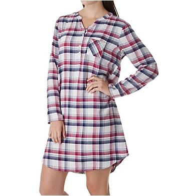Jockey Sleepwear Plaid Sleepshirt