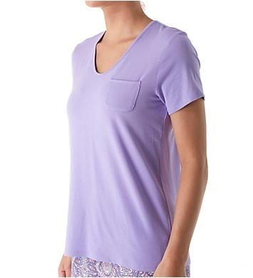Jockey Sleepwear Bohemian Nights Short Sleeve V-Neck Pajama Top