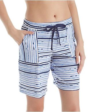 Jockey Sleepwear Painted Stripe Bermuda Short