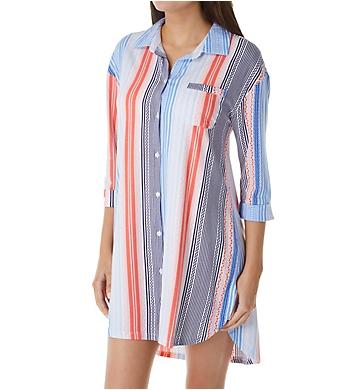 Jockey Sleepwear Hello Weekend 3/4 Sleeve Sleepshirt