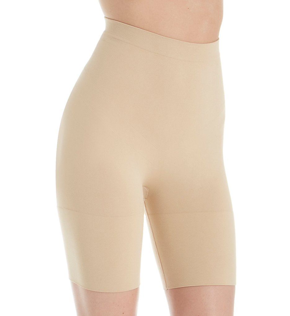 Jones New York - Jones New York 712175 Seamless Shapewear Brief Thigh Slimmer (Nude S)