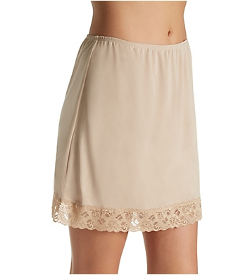 Jones New York Silky Spandex 16 Inch Half Slip with Lace