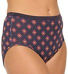 Plus Size Cotton Brief Panty - 5 Pack