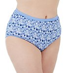 Cool Comfort Cotton High Brief Panty - 6 Pack
