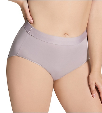 Just My Size Microfiber Smooth Stretch Brief Panty - 6 Pack