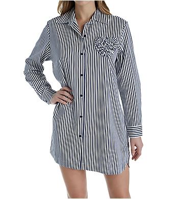 Kate Spade New York Sateen Stripe Sleepshirt