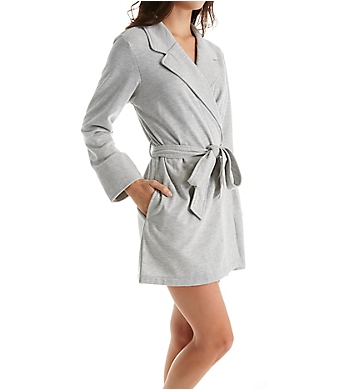 Kate Spade New York Beauty Sleep Brushed Fleece Short Robe