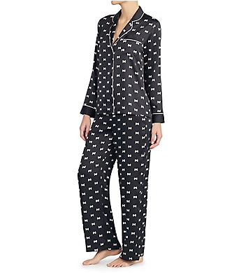 Kate Spade New York Charmeuse Long PJ Set