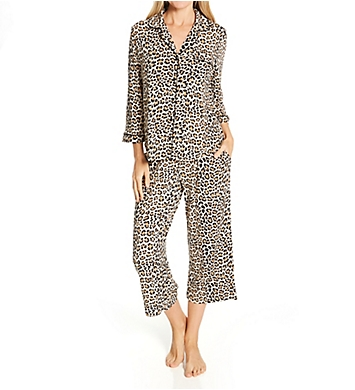 Kate Spade New York Evergreen Modal Jersey 3/4 Sleeve Classic PJ Set