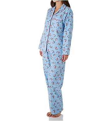 KayAnna Daisy Flannel Pajama Set