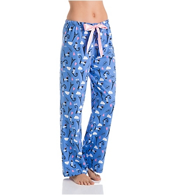 KayAnna Paris Cat Flannel Pajama Pant