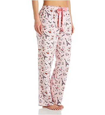 KayAnna Paris Dog Flannel Pajama Pant