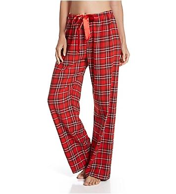 KayAnna Red Plaid Flannel Pajama Pant