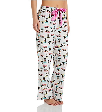 KayAnna Yoga Dog Flannel Pajama Pant