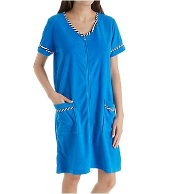 KayAnna Terry Front Zip Robe
