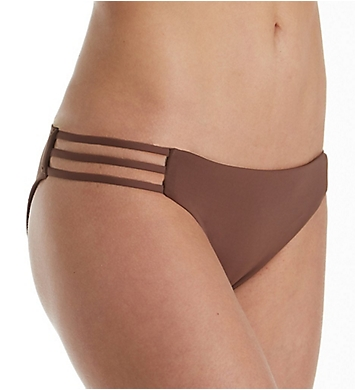 L Space Solid Kennedy Full Cut Swim Bottom