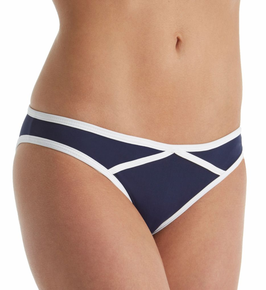 L Space Anchors Away Dynamic Hipster Brief Swim Bottom