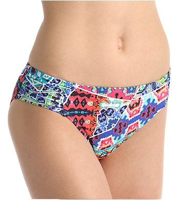 La Blanca Barbados Side Shirred Hipster Swim Bottom