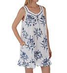 100% Cotton Flouncy Short Dress