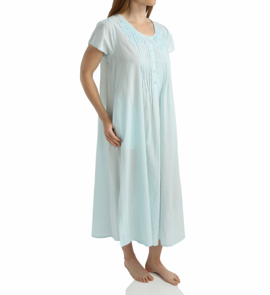 La Cera 100% Cotton Lace Applique Ballet Gown