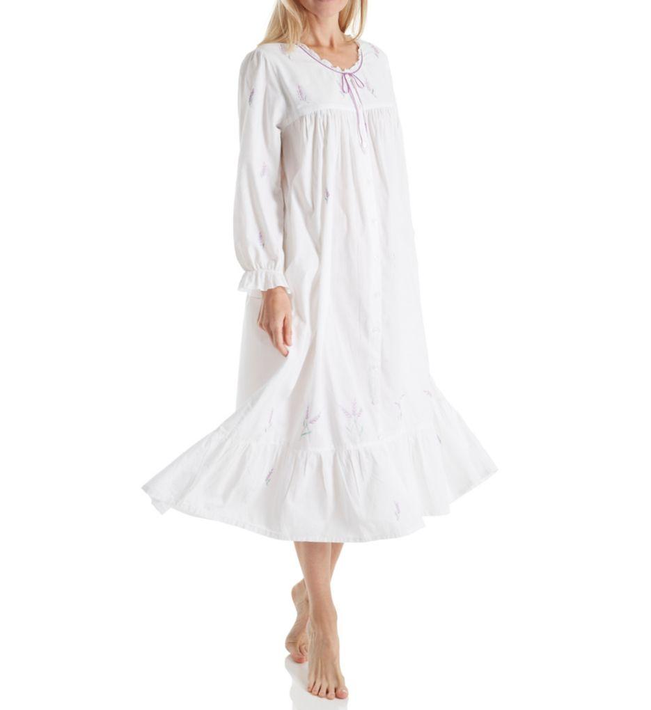 La Cera Long Sleeve Knee Length Gown