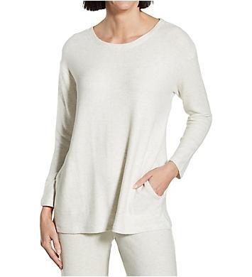 La Cera Scoop Long Sleeve Tunic