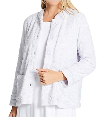 La Cera 100% Polyester Fleece Bed Jacket