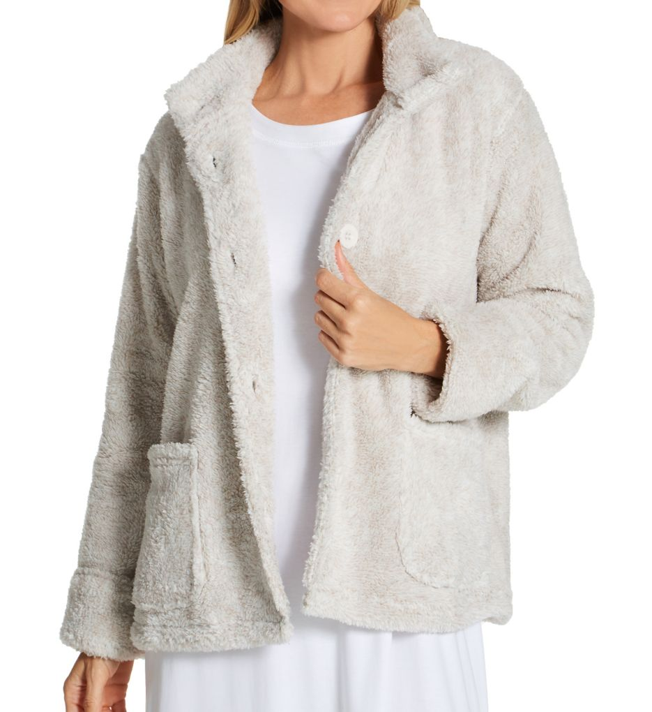 La Cera 100% Polyester Fleece Jacket