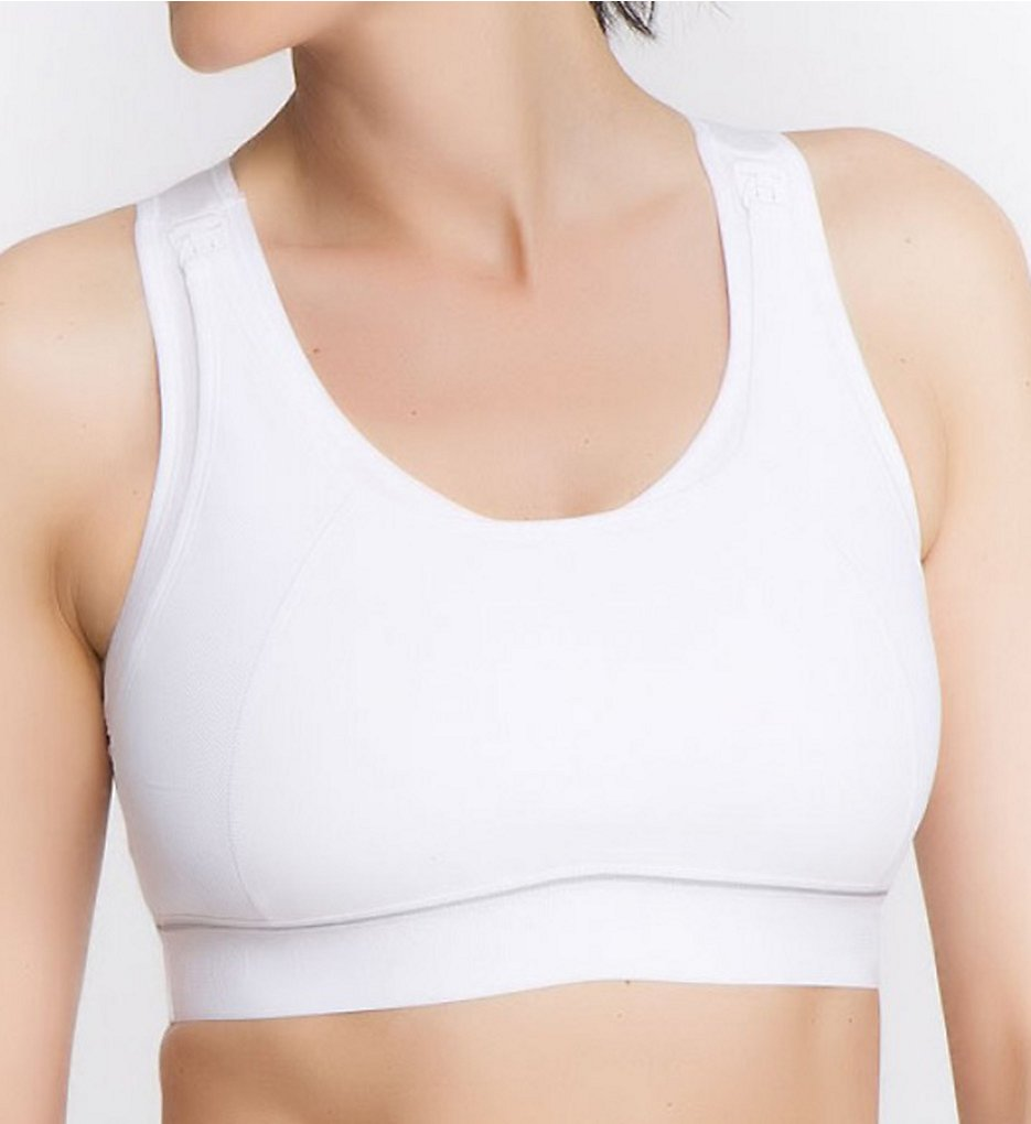 8feb641b7c La Leche League 4102 High Impact Wire Free Nursing Sports Bra