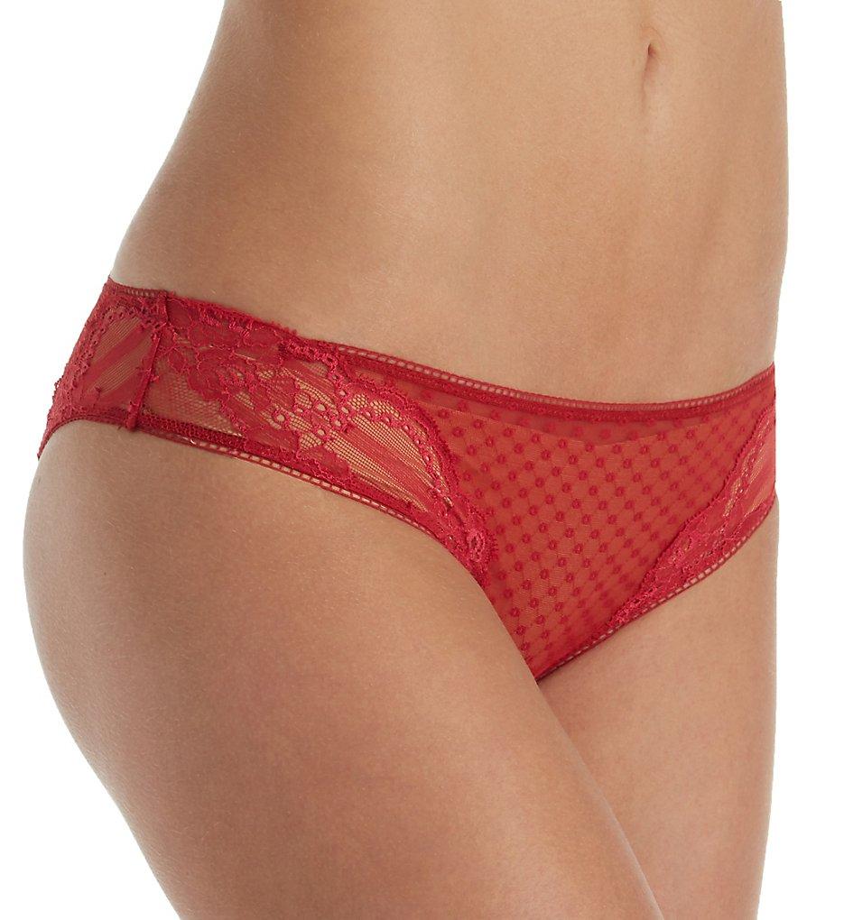La Perla - La Perla 006940 Tuberose Brazilian Panty (Cherry S)