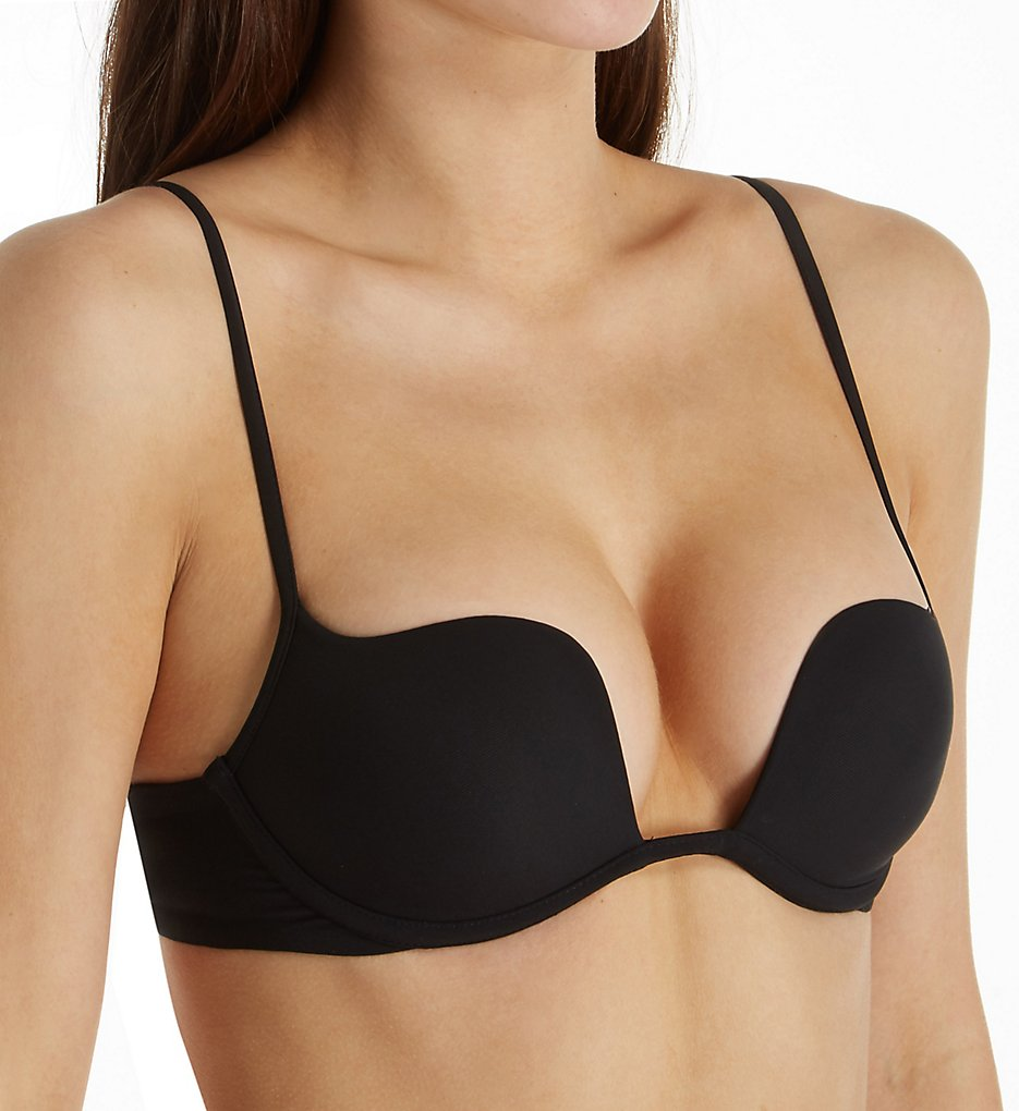 La Perla - La Perla 02876 Second Skin Wireless Push Up Bra (Black 30B)
